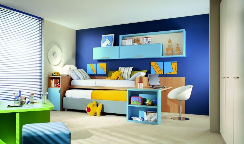 Интерьер детской комнаты в едином стиле