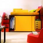 Яркая детская мебель