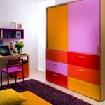Шкаф с ящиками для детской комнаты