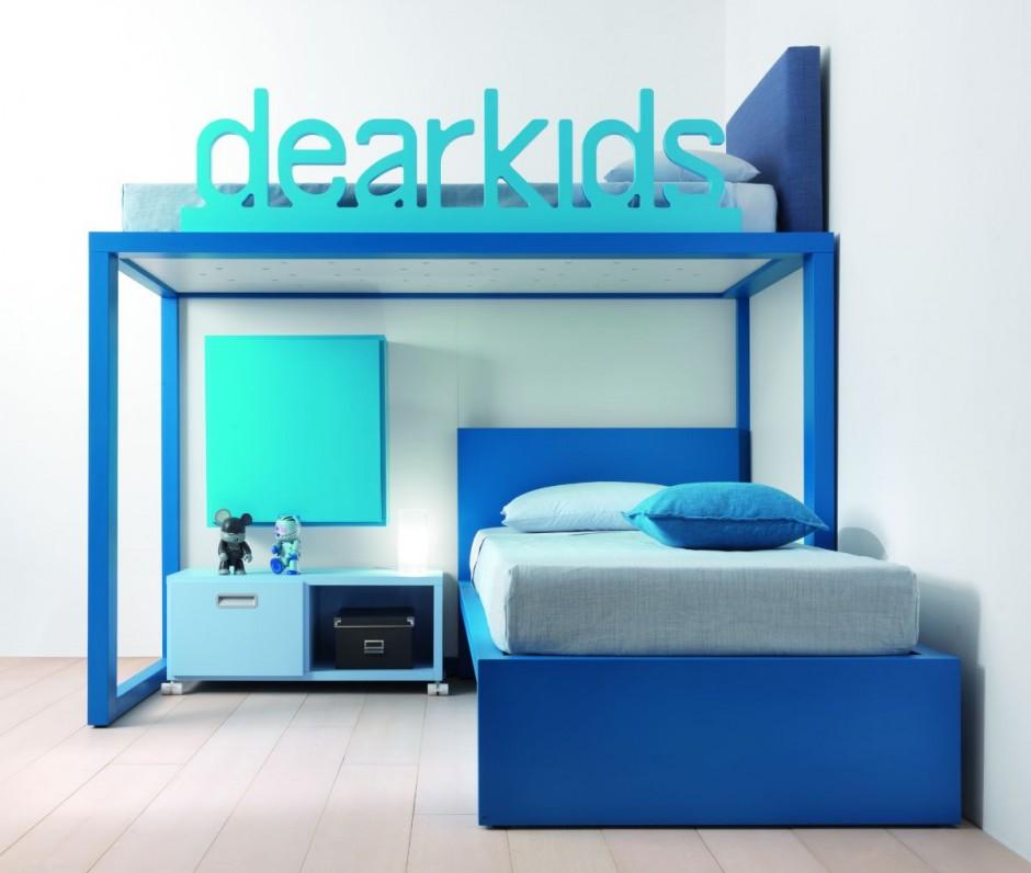 Кровать чердак. Детская мебель.