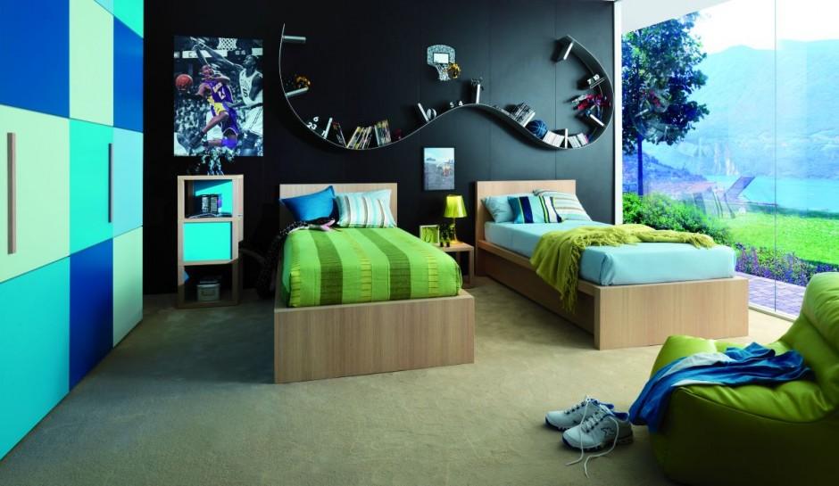Интерьер комнаты для детей и подростков