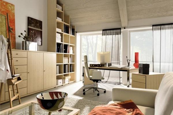 Домашний офис удачный пример и идеи