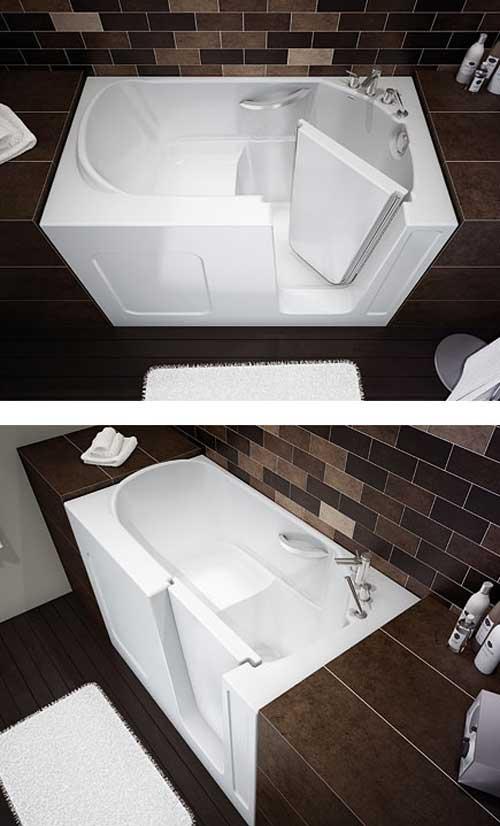 Импортные сидячие ванны