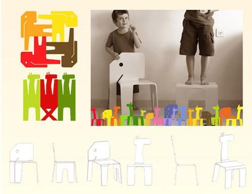 Яркая мебель для детей своими руками