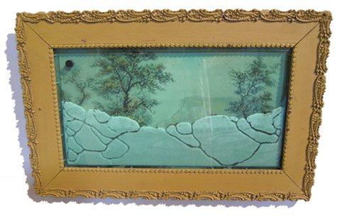 Картина с муравьями в качестве декоративного элемента