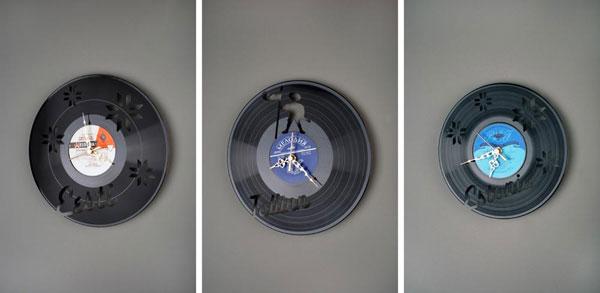 Декоративный элемент настенные часы