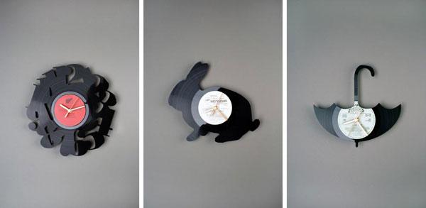 Вырезанные вручную фигурки животных для украшения стен