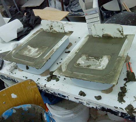 Процесс изготовления предметов интерьера из бетона своими руками