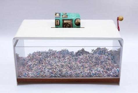 Журнальный столик кофейный с прозрачными стенками