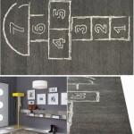 Ковер с интересным рисунком для детской комнаты