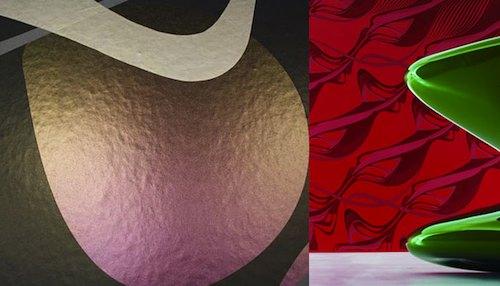 Обои во всю стену с фактурой и абстракцикей