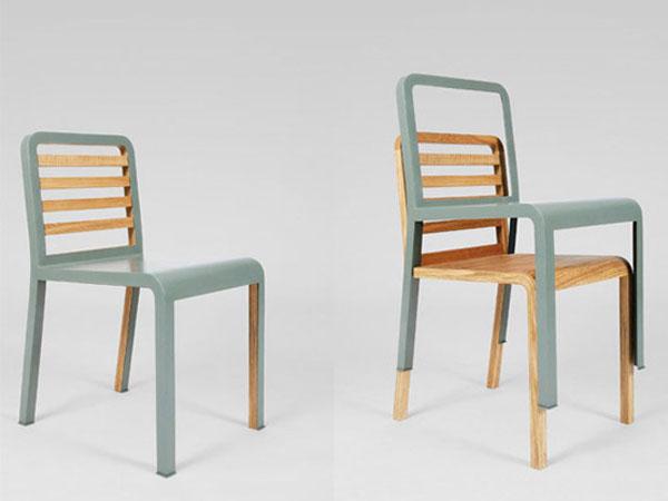 Раскладные стулья от французского дизайнера мебели