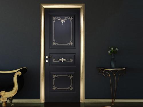 Дизайнерская дверь производства Италии
