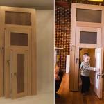 Оригинальная дверь для всей семьи