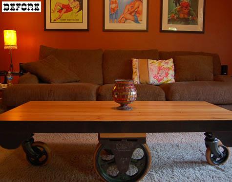 Журнальный столик кофейный сделай сам
