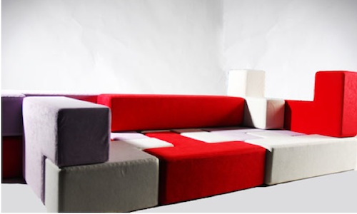 Мобильная модульная мягкая мебель