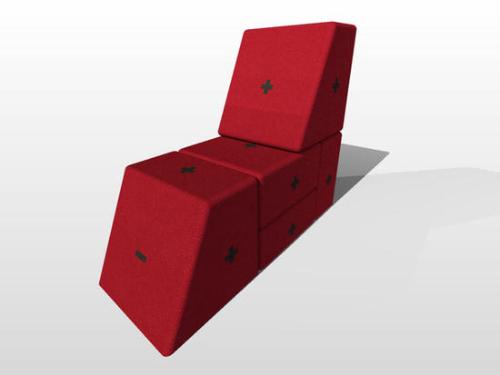 Разборная мебель из модулей