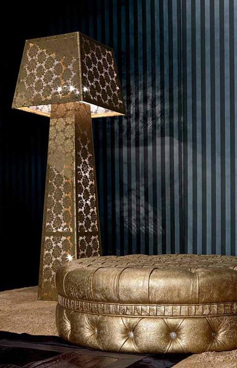 Итальянские напольные лампы оригинального дизайна