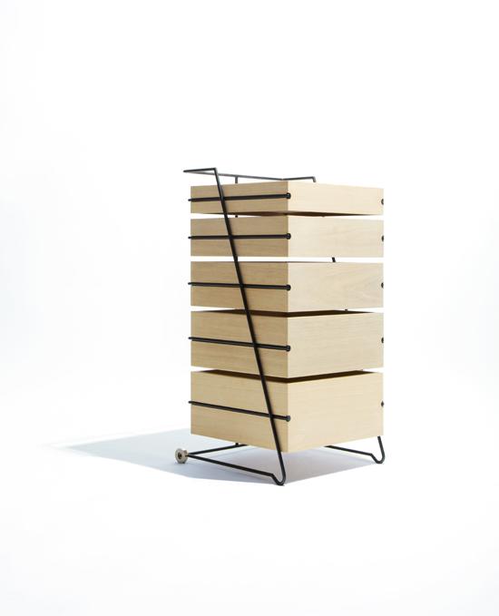 Японский минимализм в мебели, оригинальный комод