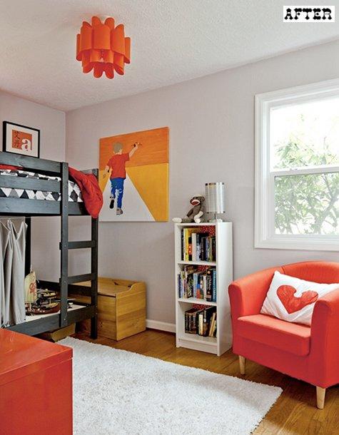 Ремонт и переделка детской комнаты с заменой мебели