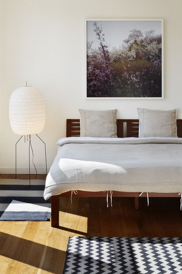 Солнечная спальня пример дизайна интерьера
