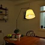 Дизайн ламп. Настольная лампа с энергосберегающей лампочкой