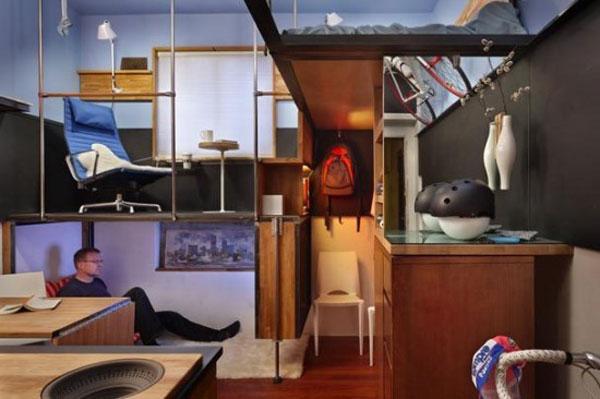 Идеи дизайна маленьких комнат, примеры