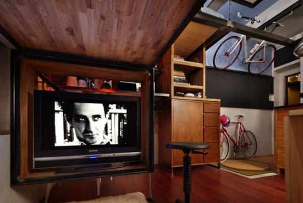 Дизайн интерьера очень маленькой комнаты