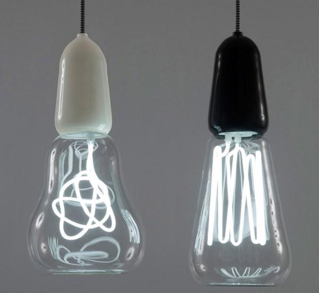 Энергосберегающие лампы со скрученной трубкой