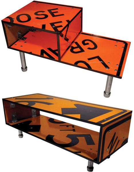 Дизайнерская мебель из железа