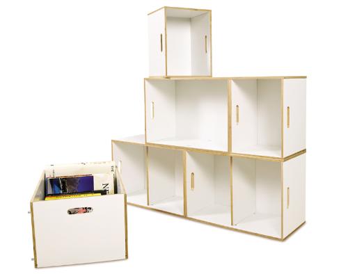 Разборные стеллажи для книг и документов