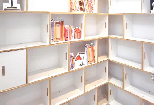 Модульная мебель -- сборные / разборные стеллажи