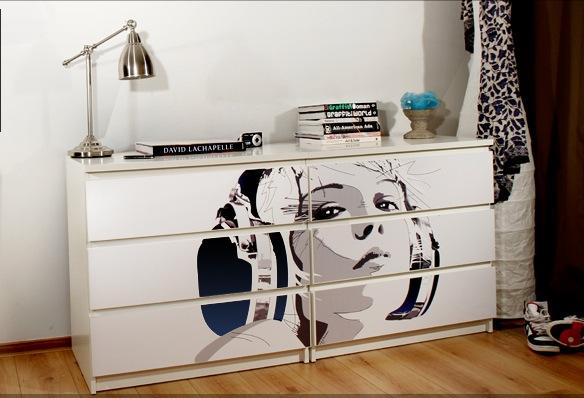 Мебель наклейки виниловые стикеры
