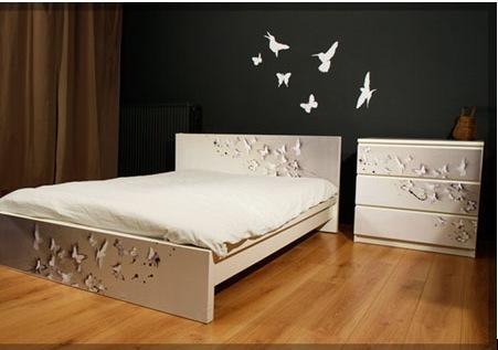 Виниловые наклейки для спальни