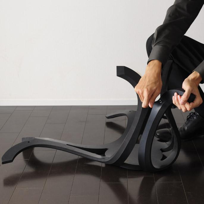Японский дизайн - резиновая табуретка
