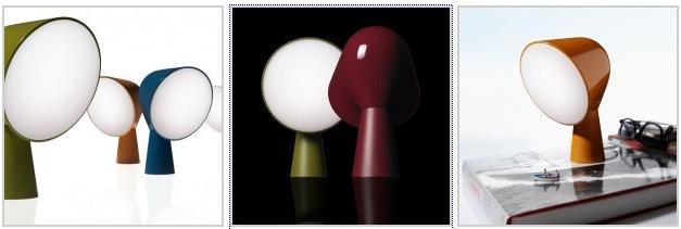 Настольная лампа в стиле минимализм разных цветов