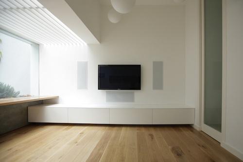 Ремонт и перепланировка гостиной. Стиль минимализм