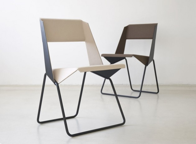 Легкие сборные стулья для офиса