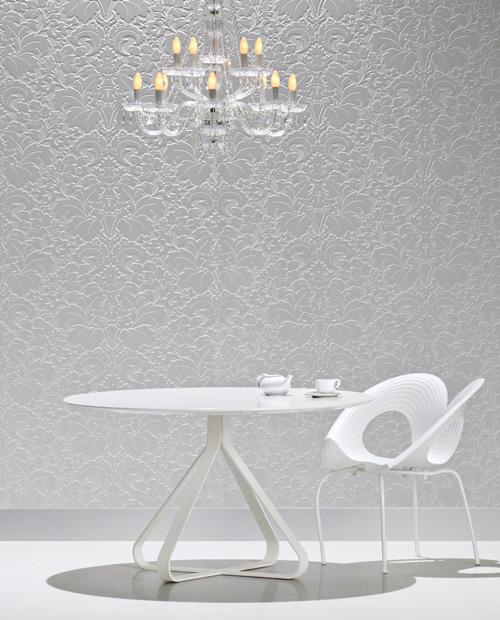 Белые панели для стен с текстурой