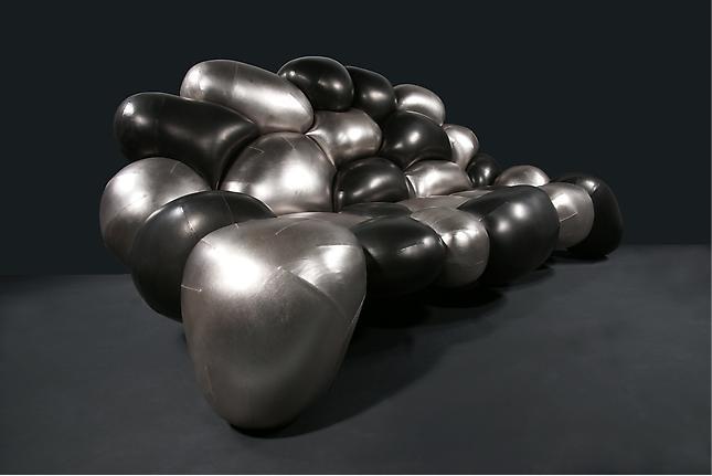 Диван софа из надувных баллонов