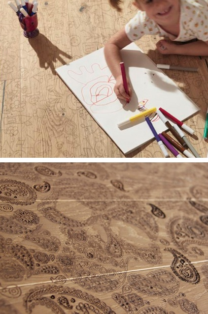Интерьер детской комнаты, напольные покрытия