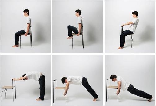 Физические упражнения на рабочем месте
