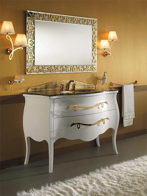 Мебель под старину для ванной комнаты