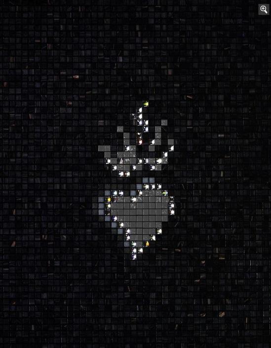 Мозаичная плитка для ванной черный фон блестки