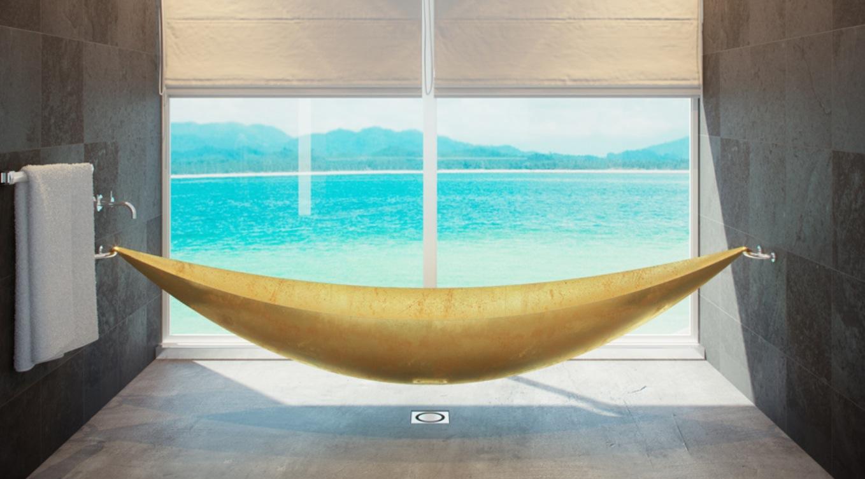 Подвесная эластичная ванна из карбового волокна