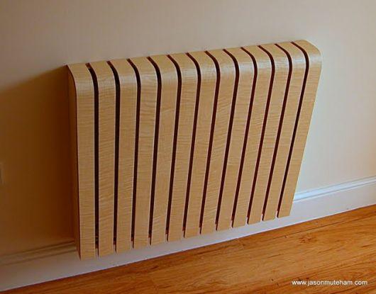 Деревянный кожух для радиаторов центрального отопления