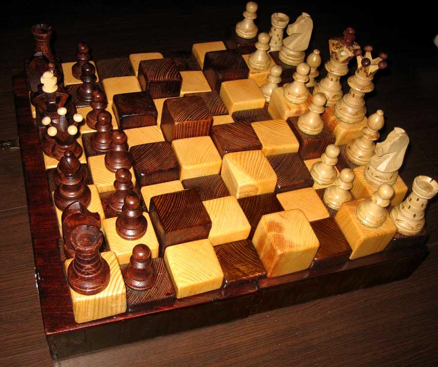 Сделать шахматы из дерева своими руками 24