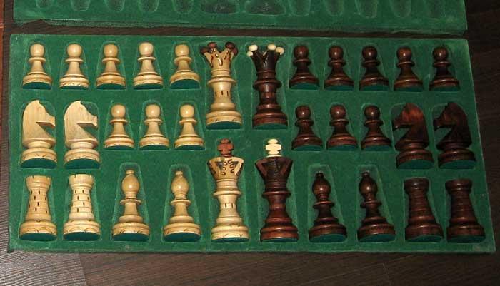 Фигурки для шахмат ручной работы