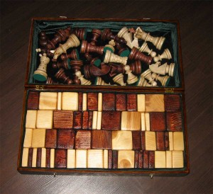Шахматы сделанные вручную