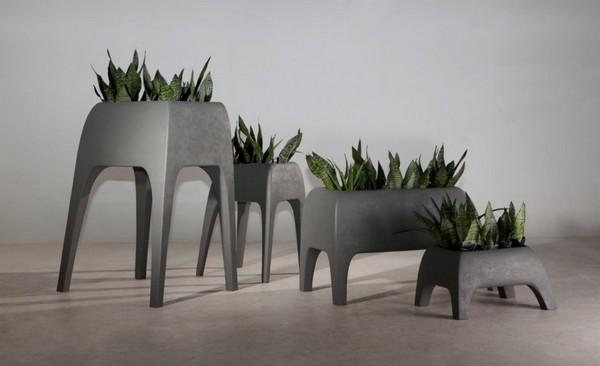 Горшки для содовых растений прямоугольной формы